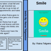 Student Book Review: Ev's review of Smile, by Raina Telgemeier