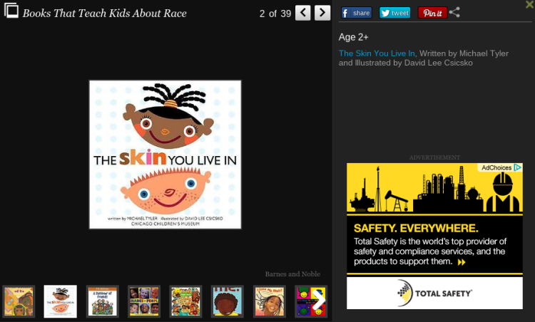 Screenshot from http://www.huffingtonpost.com/kristen-howerton/talking-to-kids-race-racism-books_b_2618305.html