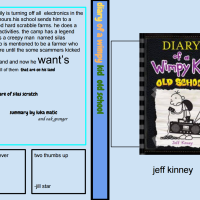 Student Book Review: Luka and Oak's review of Diary of a Wimpy Kid: Old School