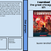 Student Book Review: Oak's Review of I Survived the Great Chicago Fire 1871, by Lauren Tarshish
