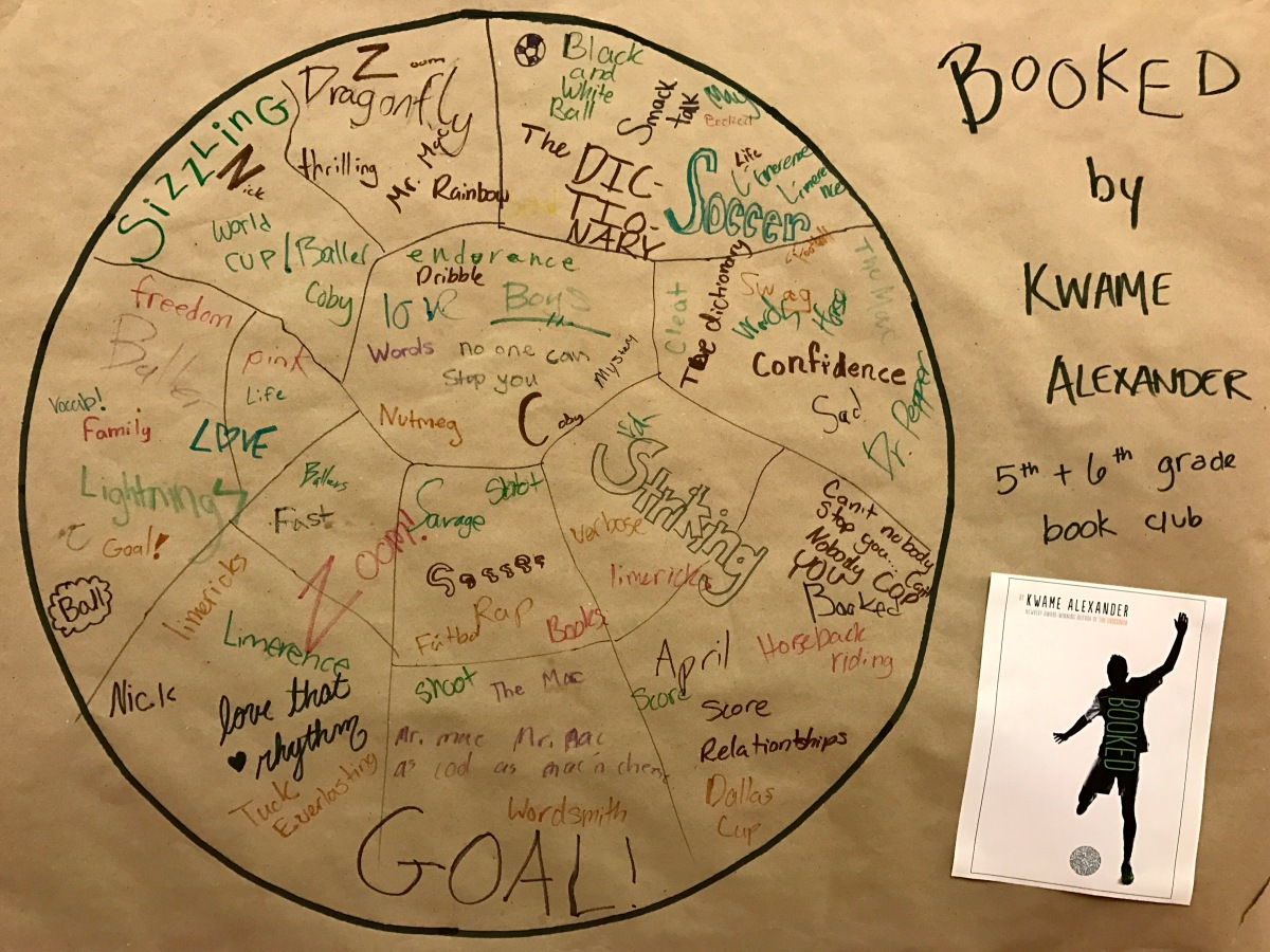 5th and 6th Grade Book Club: Booked, by Kwame Alexander