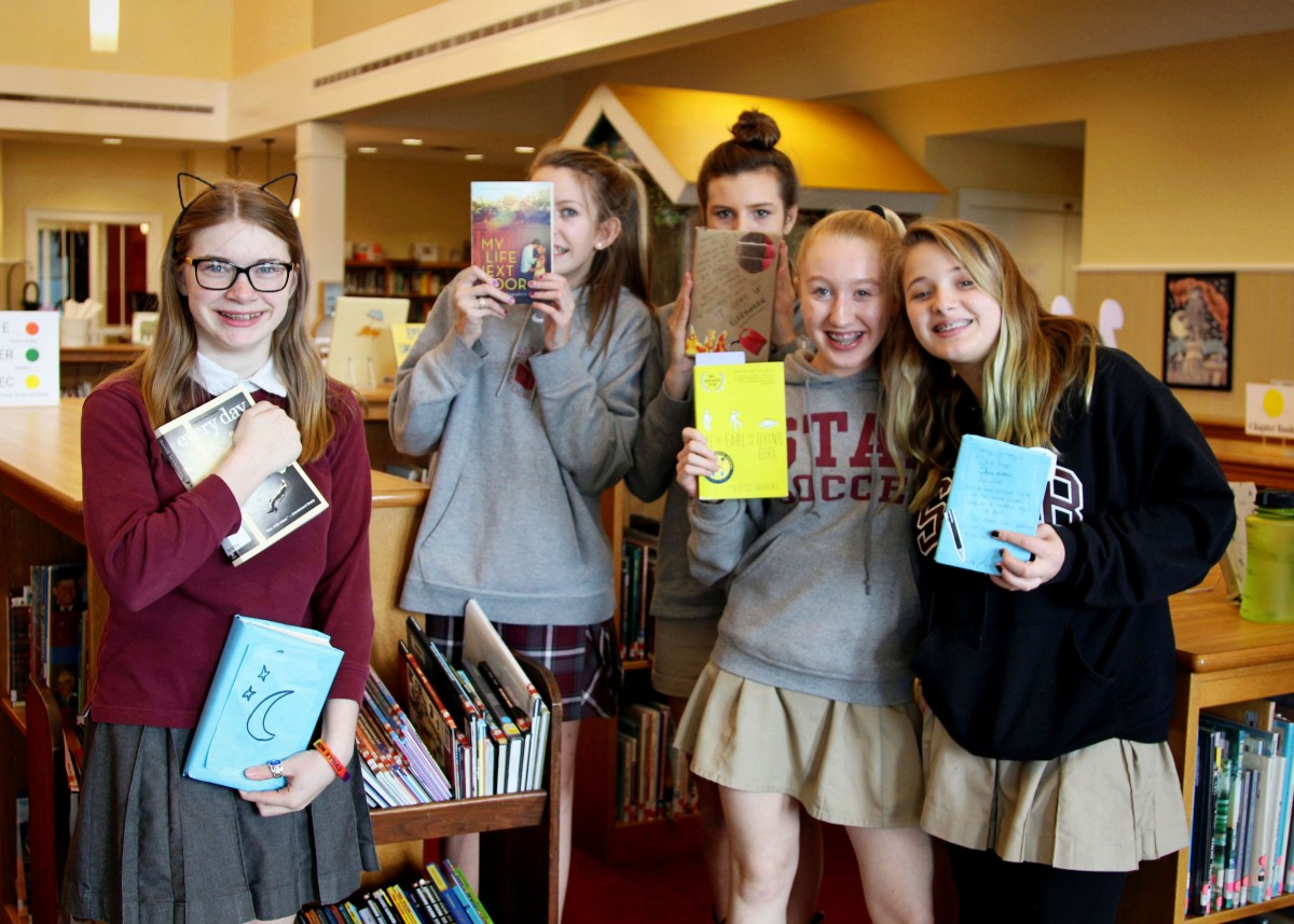7th and 8th Grade Book Club: Blind Date with a Book