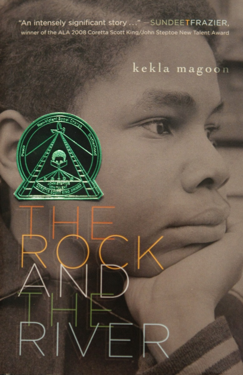 Coming Soon: 7th and 8th Grade Book Club - The Rock and the River, by Kekla Magoon