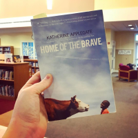Insta Review: Home of the Brave, by Katherine Applegate