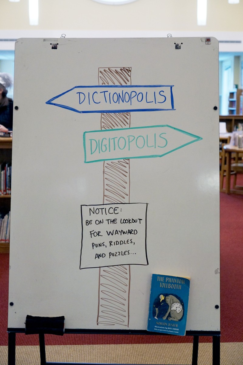 6th Grade Book Club: The Phantom Tollbooth