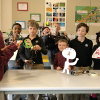 5th grade FABLab: Robots in the Wild