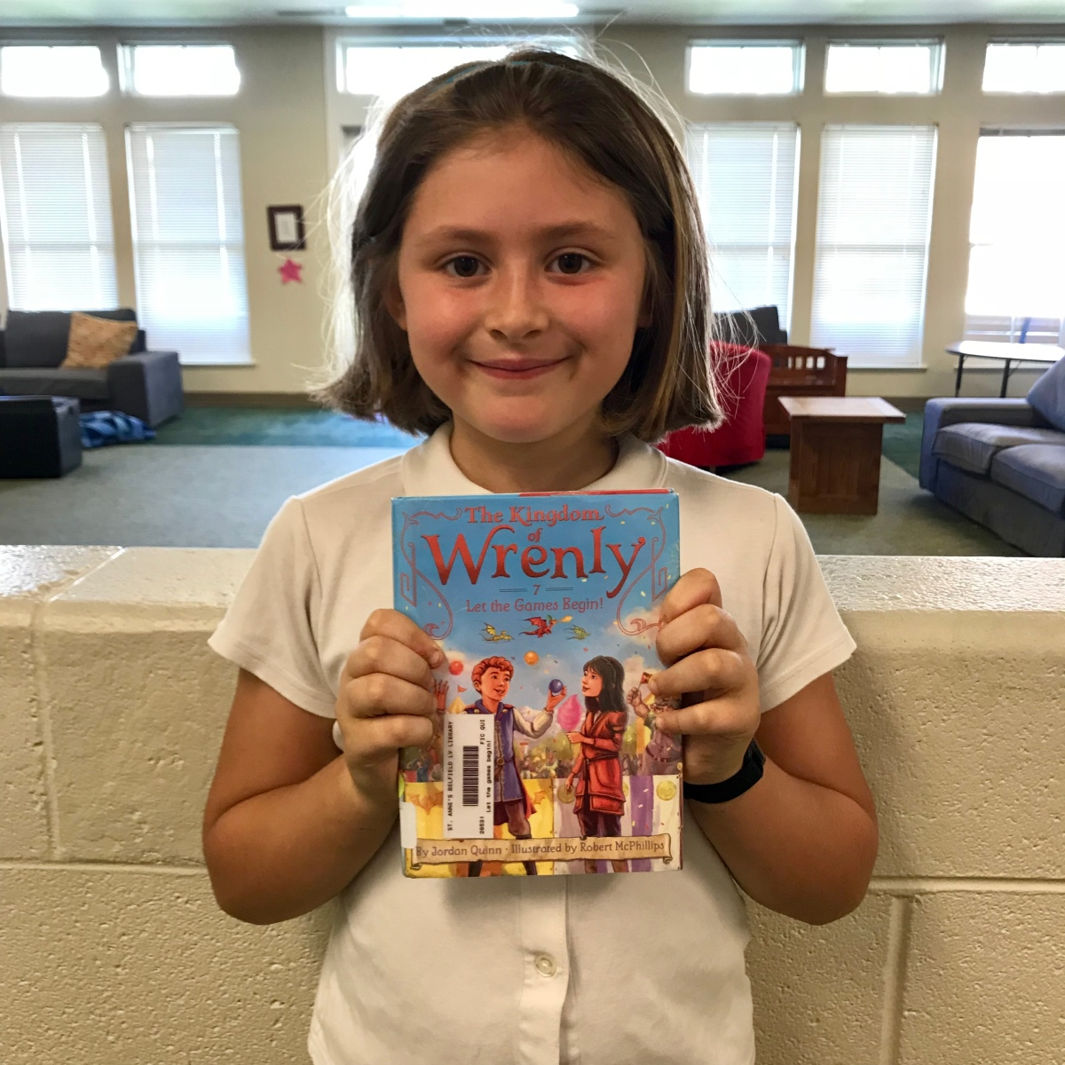 Fitz's Faves Jr: Amity's review of The Kingdom of Wrenly, book 7, by Jordan Quinn