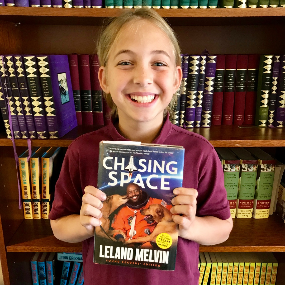 Fitz's Faves: Hadley's review of Chasing Space, by Leland Melvin