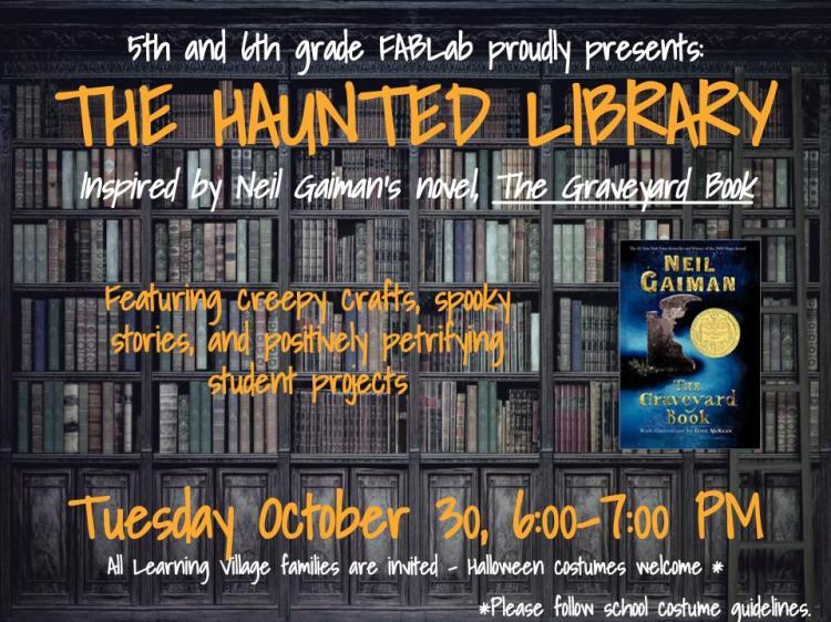 Haunted Library Invitation (1)