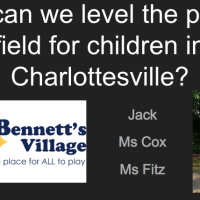 Quest: How can we level the playing field for children in Charlottesville?