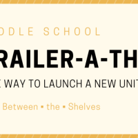 Middle School Book-Trailer-a-Thons (and 5th Graders' Favorite Historical Fiction Book Trailers)