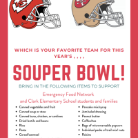 Quest: The Souper Bowl Food Drive
