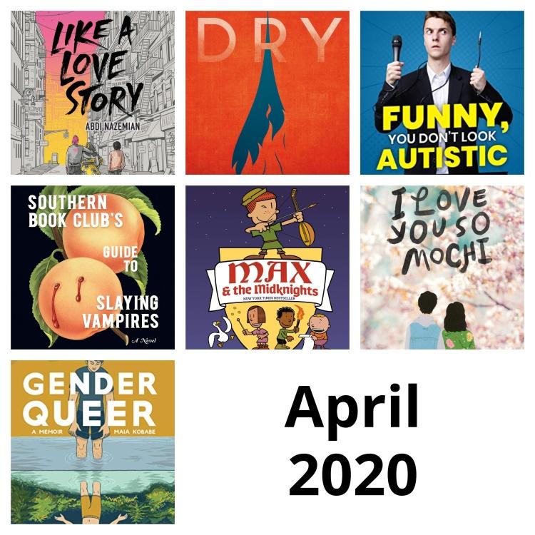 April reading 2