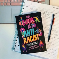 June Antiracist Read - This Book is Anti-racist, by Tiffany Jewell and Aurélia Durand